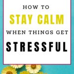 staying calm