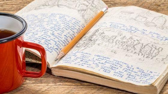 journal morning routine checklist